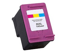 Remanufactured HP 65XL N9K03AN High Yield Tri-color Ink Cartridge