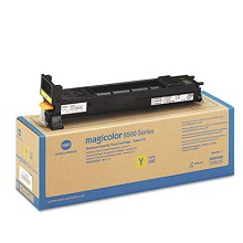 Original Konica Minolta A06V232 Standard Capacity Yellow Toner Cartridge
