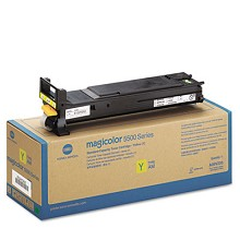 Original Konica Minolta A06V233 High Capacity Yellow Toner Cartridge