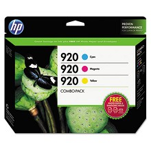 Genuine HP 920 B3B30FN Creative Combo Pack