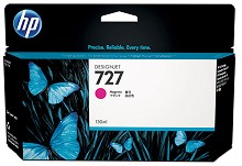 Genuine HP 727 B3P20A Magenta Ink Cartridge 130ml