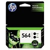 Genuine HP 564 Black Ink Cartridge 2 Pack