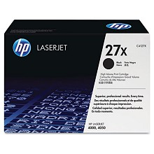 Genuine HP 27X C4127X High Yield Black Toner Cartridge