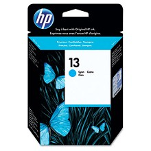 Genuine HP 13 C4815A Cyan Ink Cartridge