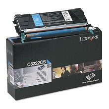 Original Lexmark C5222CS Cyan Toner Cartridge