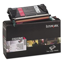 Original Lexmark C5222MS Magenta Toner Cartridge