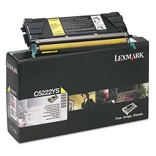 Original Lexmark C5222YS Yellow Toner Cartridge