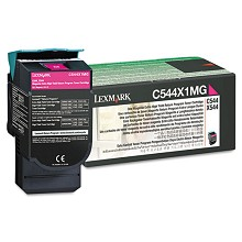 Original Lexmark C544X1MG Extra High Yield Magenta Return Program Toner Cartridge
