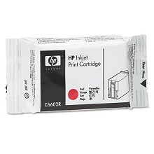 Genuine HP C6602R Red Ink Cartridge