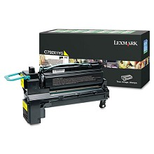 Lexmark C792X1YG Yellow Extra High Yield Return Program Toner