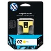 Genuine HP 02 C8773WN Yellow Ink Cartridge