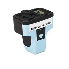 Remanufactured HP 02XL High Capacity Light Cyan Ink Cartridge