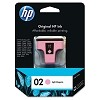 Genuine HP 02 C8775WN Light Magenta Ink Cartridge