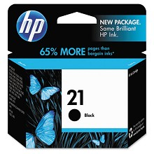 Genuine HP 21 C9351AN Black Ink Cartridge