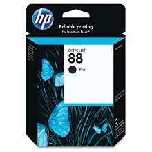 Genuine HP 88 C9385AN Black Ink Cartridge
