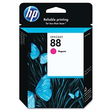 Genuine HP 88 C9387AN Magenta Ink Cartridge