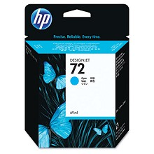 Genuine HP 72 C9398A Cyan Ink Cartridge 69ml