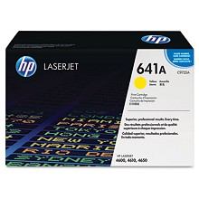 Genuine HP 641A C9722A Yellow Toner Cartridge
