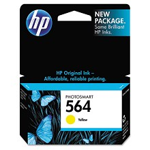 Genuine HP 564 CB320WN Yellow Ink Cartridge