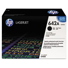 Genuine HP 642A CB400A Black ColorSphere Print Cartridge