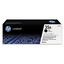 Genuine HP 35A CB435A Black Toner Cartridge