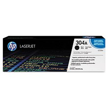 Genuine HP 304A CC530A Black Toner Cartridge