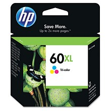 Genuine HP 60XL CC644WN High Capacity Color Ink Cartridge