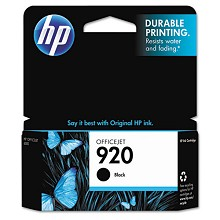Genuine HP 920 CD971AN Black Ink Cartridge