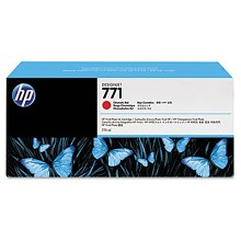 Genuine HP 771A B6Y16A Red Ink Cartridge 775ml