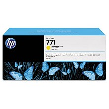 Genuine HP 771A B6Y18A Yellow Ink Cartridge 775ml