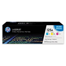 Genuine HP 125A CE259A Color Toner Cartidge Combo Pack