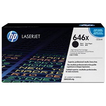 Genuine HP 646X CE264X Black High Yield Toner Cartridge