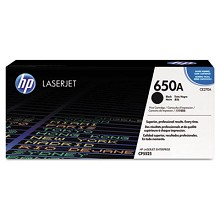 Genuine HP 650A CE270A Black Toner Cartidge