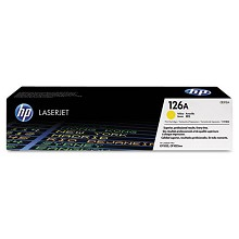 Genuine HP 126A CE312A Yellow Toner Cartridge