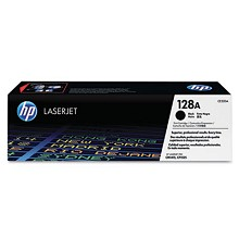 Genuine HP 128A CE320A Black Toner Cartridge
