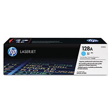 Genuine HP 128A CE321A Cyan Toner Cartridge