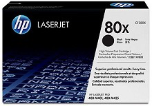 Genuine HP 80X CF280X High Yield Toner Cartridge
