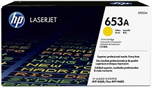 Genuine HP 653A CF322A Yellow Toner Cartridge