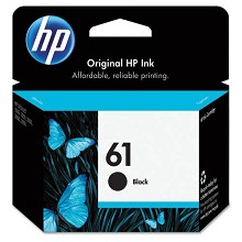 Genuine HP 61 CH561WN Black Ink Cartridge