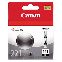Original Canon CLI-221BK Black Ink Cartridge