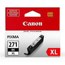 Genuine Canon CLI-271XL High Capacity Black Ink Cartridge
