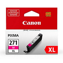 Genuine Canon CLI-271XL High Capacity Magenta Ink Cartridge