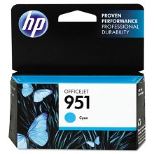 Genuine HP 951 CN050AN Standard Yield Cyan Ink Cartridge