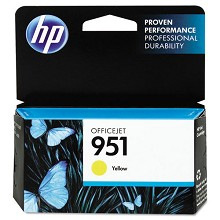 Genuine HP 951 CN052AN Standard Yield Yellow Ink Cartridge