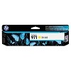 Original HP 971 Standard Yield Yellow Ink Cartridge