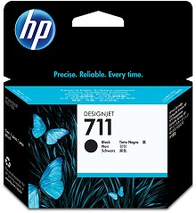Genuine HP 711 CZ133A Black Ink Cartridge 80ml