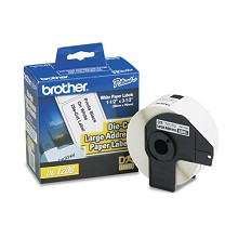 Brother DK1208 Large Address Die-Cut Paper Label