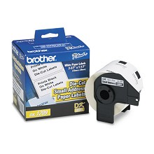 Brother DK1209 Small Address Die-Cut Paper Label