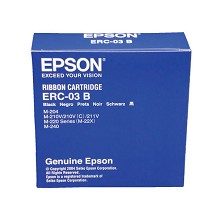 Original Epson ERC-03B Black Printer Ribbon