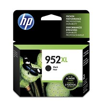 Genuine HP 952XL (F6U19AN) High Yield Black Ink Cartridge